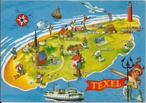 kaart-texel